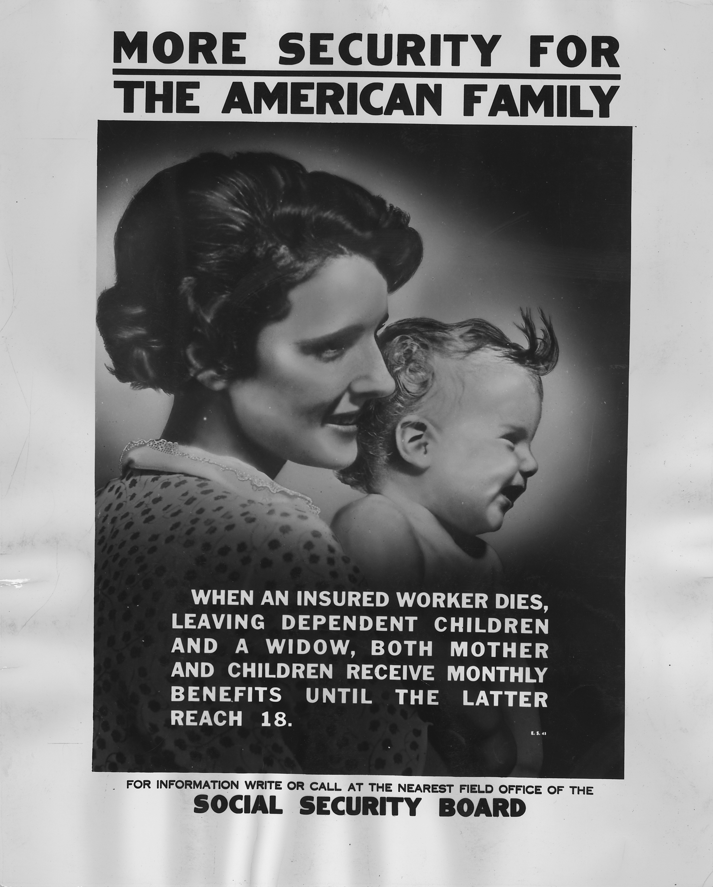 Social Security Board poster