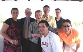 Gordon S. Wood and Teachers at Adair Margo Reception in El Paso