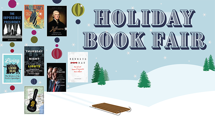 Holiday Book Fair! Humanities Texas will host its ninth annual Holiday Book Fair at the historic Byrne-Reed House on Saturday, December 9, 2017, from 10 a.m. to 1 p.m. Proceeds will benefit Hurricane Harvey recovery.