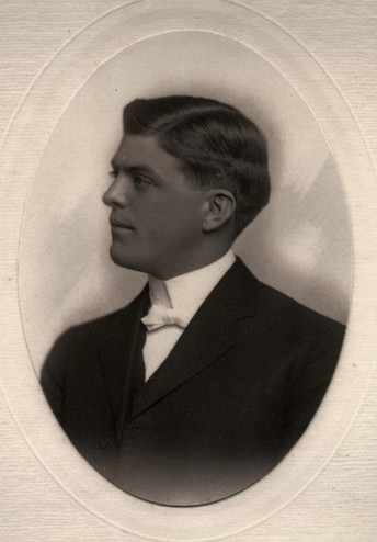 <em>Portrait of David Reed. Courtesy of the Reed family.</em>