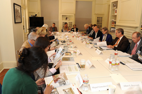 Board meeting, fall 2011