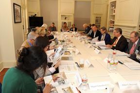 Board meeting, fall 2011