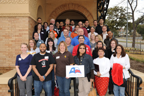 Texas History Feb. 2011 Group Photo