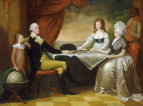 The Washington Family by Edward Savage
