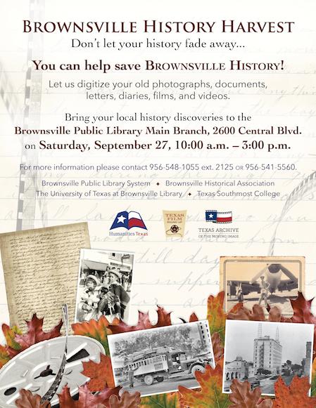 brownsville history harvest humanities texas