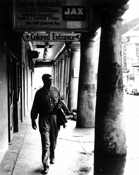 John Howard Griffin, disguised, in New Orleans