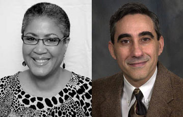 New board members Shirlene Bridgewater (left) and Frank de la Teja (right).