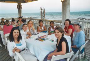 2005 Institute Participants at Dinner