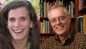 Catherine Robb (left) and Larry Carver (right).
