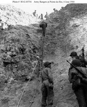 Ladders Used to Storm Cliffs
