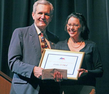 Congressman Lloyd Doggett and Linda O'Neal