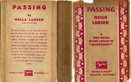 an analysis of the novel passing by nella larson Identity is an important aspect in the novel passing by nella larson, and it is tied within race, socioeconomic class, and gender however this novel challenges the very notion of self-perception and how circumstances regarding your race, gender, and overall identity can change as you encounter obstacles and adversities as seen with irene redfield whos [.