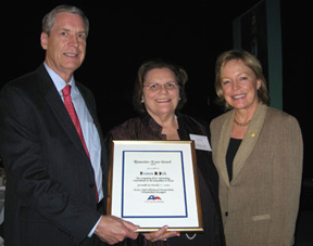 Fran Vick receives Humanities Texas Award